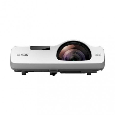 Epson EB520 Short-Throw Projector: Epson's 3LCD technology displays brighter images and more accurate colours