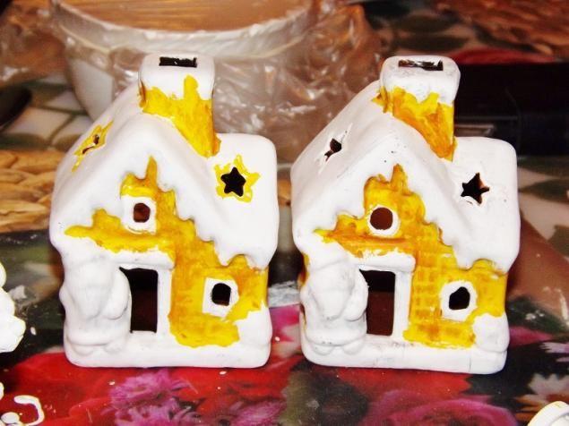Гипсовые домики из мыльной формы. - Ярмарка Мастеров - ручная работа, handmade