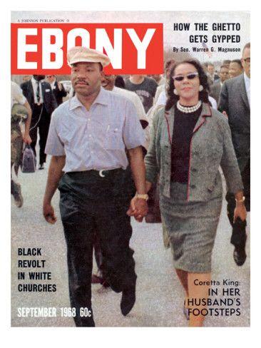 Ebony September 1968 Photographic Print By Moneta Sleet Jr