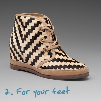 chevron shoes... maybe my old Toms?