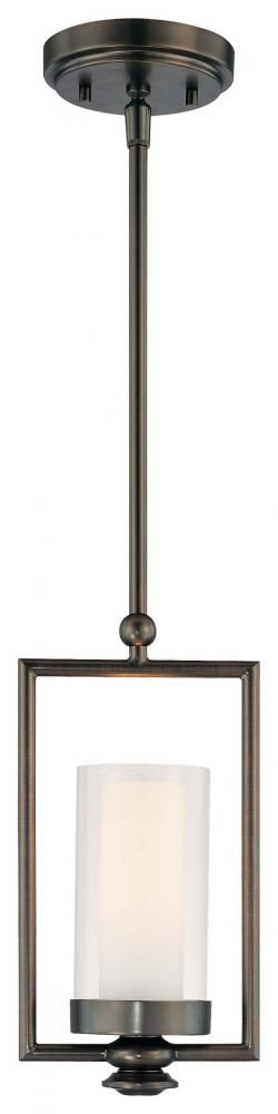 One Light Bronze Candle Mini Pendant : SKU V10-4361-281 | 43rd Street Lighting, Inc.