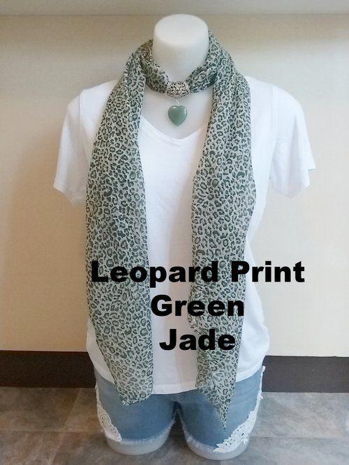 Leopard Print - Jade Gem