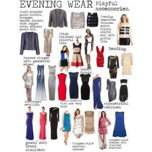 Flamboyant Gamine (FG) Evening Wear