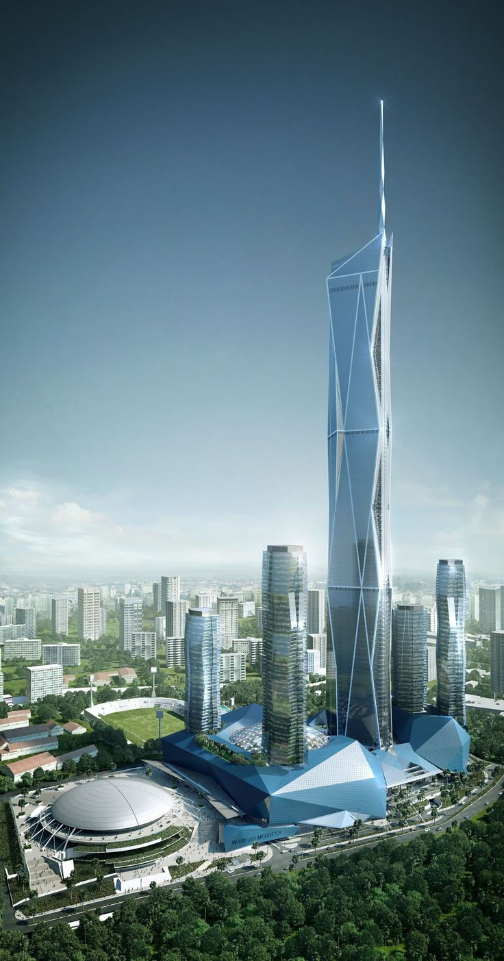 10 Tallest Buildings in the world completing in 2018 ,Merdeka PNB118 (630m) – Kula Lumpur, Malaysia