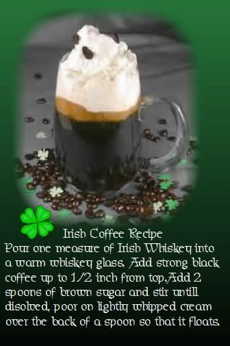 Irish Coffee: Coffee Recipe
