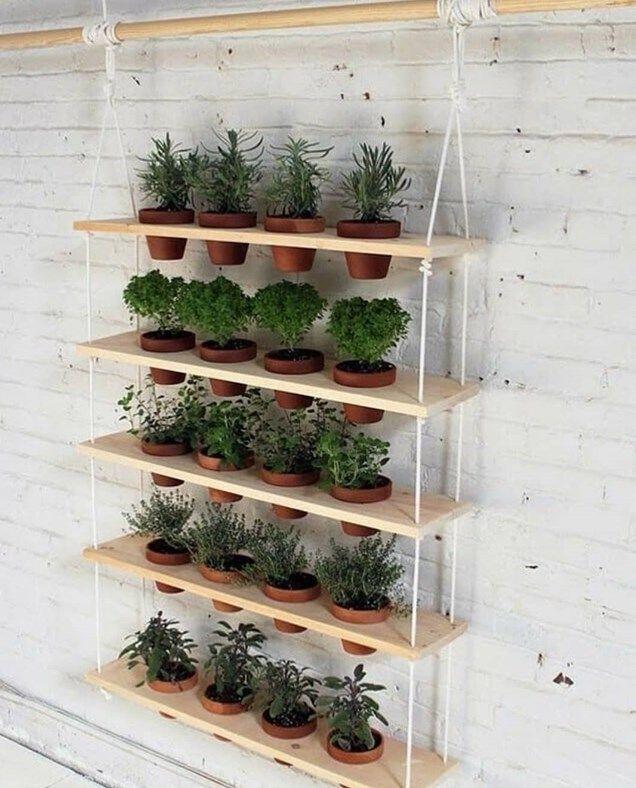 25 ideas creativas para diseñar un jardín vertical