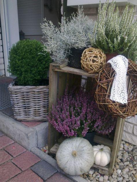 Hausfassade / Außenansichten 'Herbstdeko'                                                                                                                                                                                 Mehr