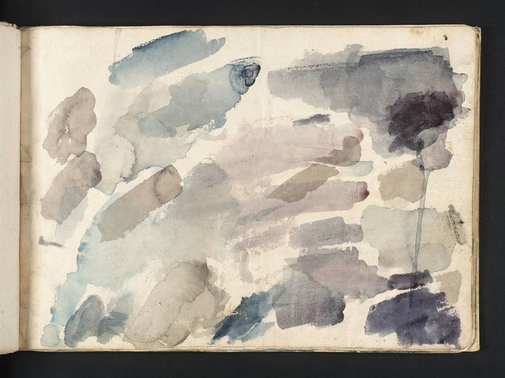 Joseph Mallord William Turner: 'colour trials', 1791.