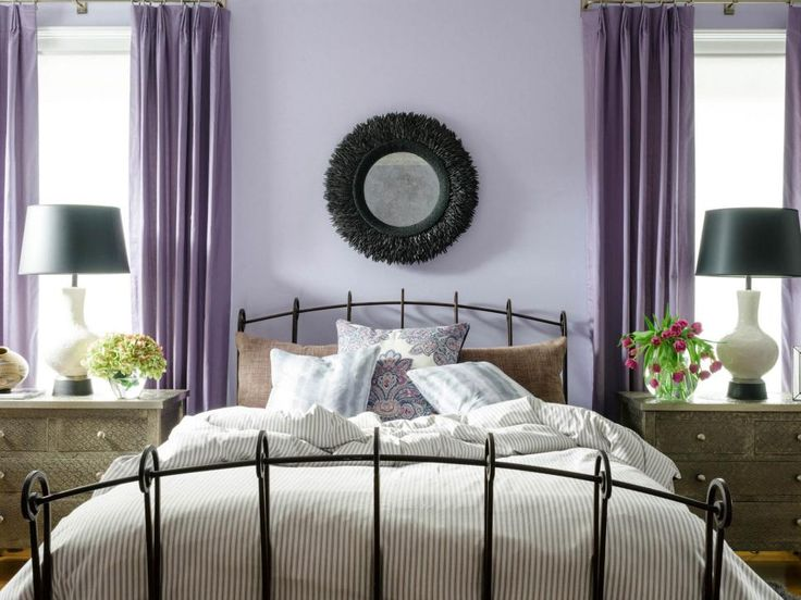 Bedrooms Wonderful Bedroom Ideas By Using Wrought Iron: 17 Wall Color Ideas For Every Room In The House
