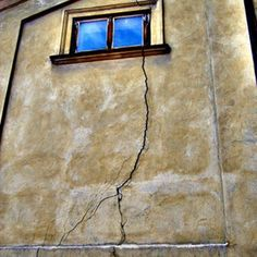 Cracks in old plaster walls are an eyesore.