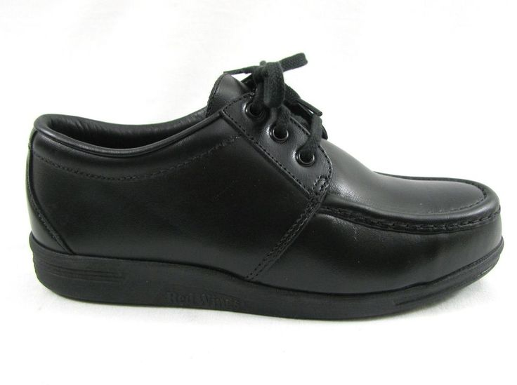 New Red Wing Black Steel Toe Oxfords Safety Work Shoes Men 6.5 EE & 7 EE USA 6604 #RedWingShoes #WorkSafety