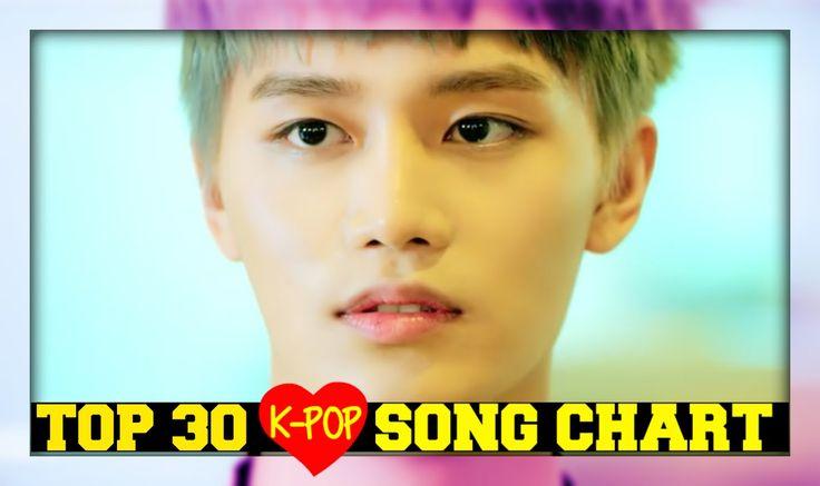 [TOP 30] K-POP SONGS CHART - APRIL 2016 (WEEK 3)