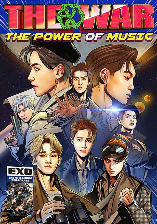 EXO THE WAR : The Power Of Music Album Details