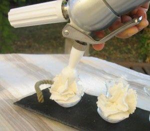 Cocinar con sifón de espumas