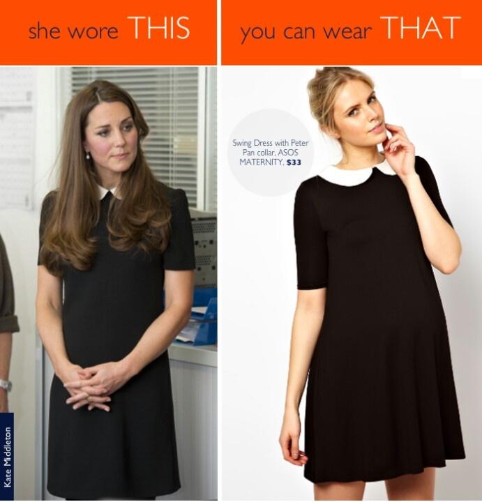 Royal maternity style