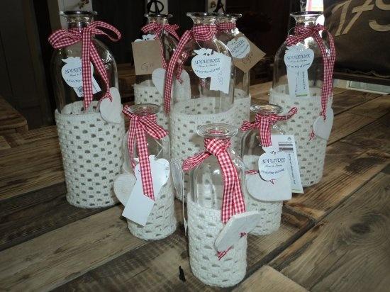 Cadeau artikelen / Decoratieve flessen nr. 12 combitex