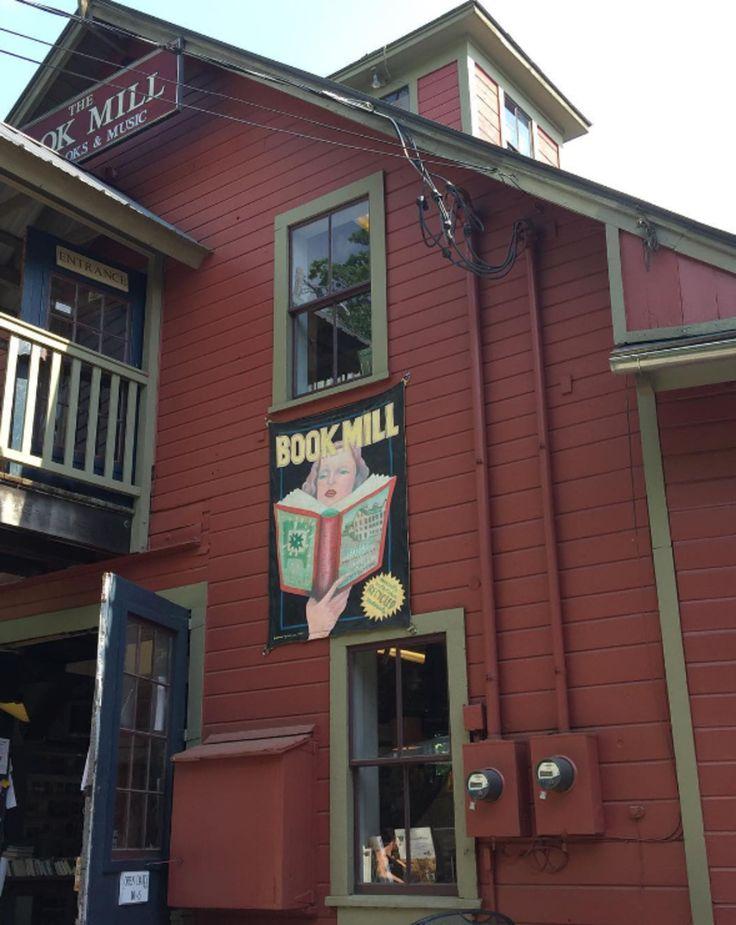 """<a href=""""http://www.montaguebookmill.com/"""" target=""""_blank"""">The Montague Book Mill</a>, Montague, Massachusetts"""