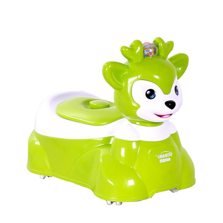 (31.33$)  Buy here  - Children's Pot  Plastic Cute Cartoon Deer Children's Potty Portable Baby Toilet Training Boy Girls Unisex Cozy Child Toilet Seat