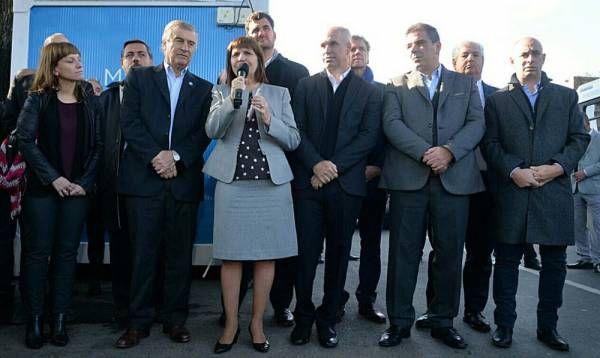 """Bullrich, Larreta, Ritondo y Aguad presentaron la campaña """"Registrá tu línea y hablá seguro"""""""