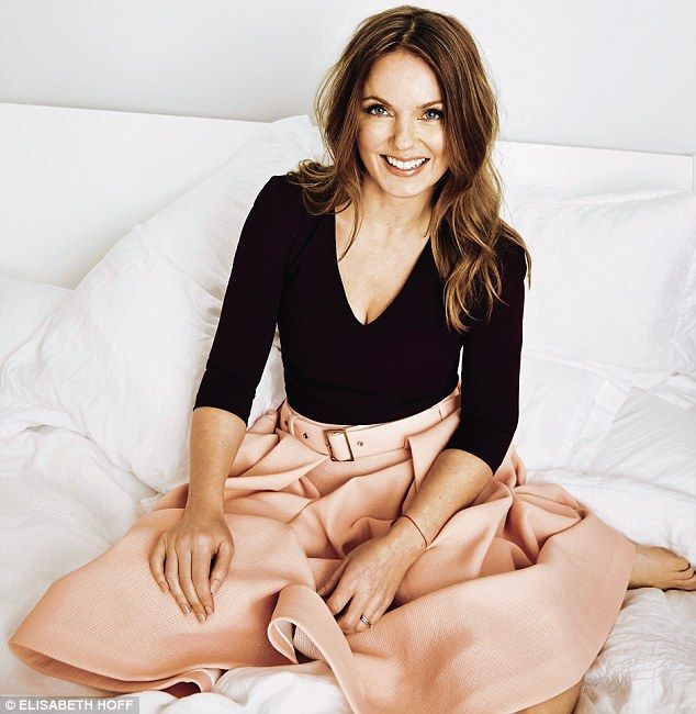 Geri Horner on accepting herself, impressing Paul Hollywood and girl power today | Daily Mail Online