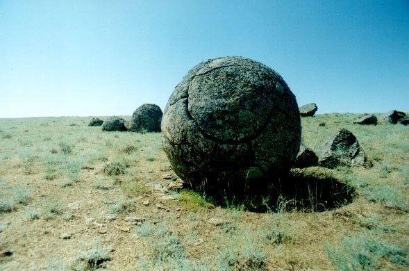 Valley of the Balls, Kazakhstan