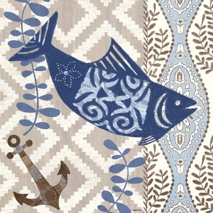 Barrier Reef Fish by Jennifer Brinley | Ruth Levison Design