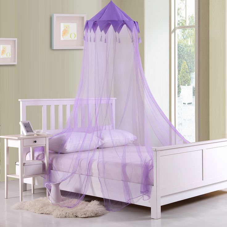 Shee Harlequin Collapsible Hoop Kids Bed Canopy