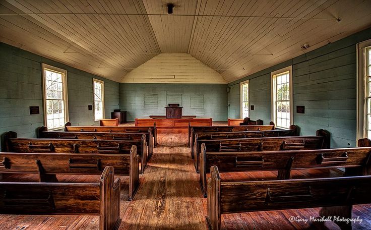 The Smyrna Church located on Hwy 36, west of Searcy [Arkansas]. Built in 1876 from a white oak tree. The tree was cut in 1865, rings of stump under church verified. Much of the existing white oak wood is still seen inside. Smyrna is the oldest documented church building in Arkansas and is among five known antebellum churches still standing in the state. White County Historical Society, Searcy Arts Council, AR Historic Preservation Society. ~ Gary Marshall (Arkansas Pictures/Facebook)
