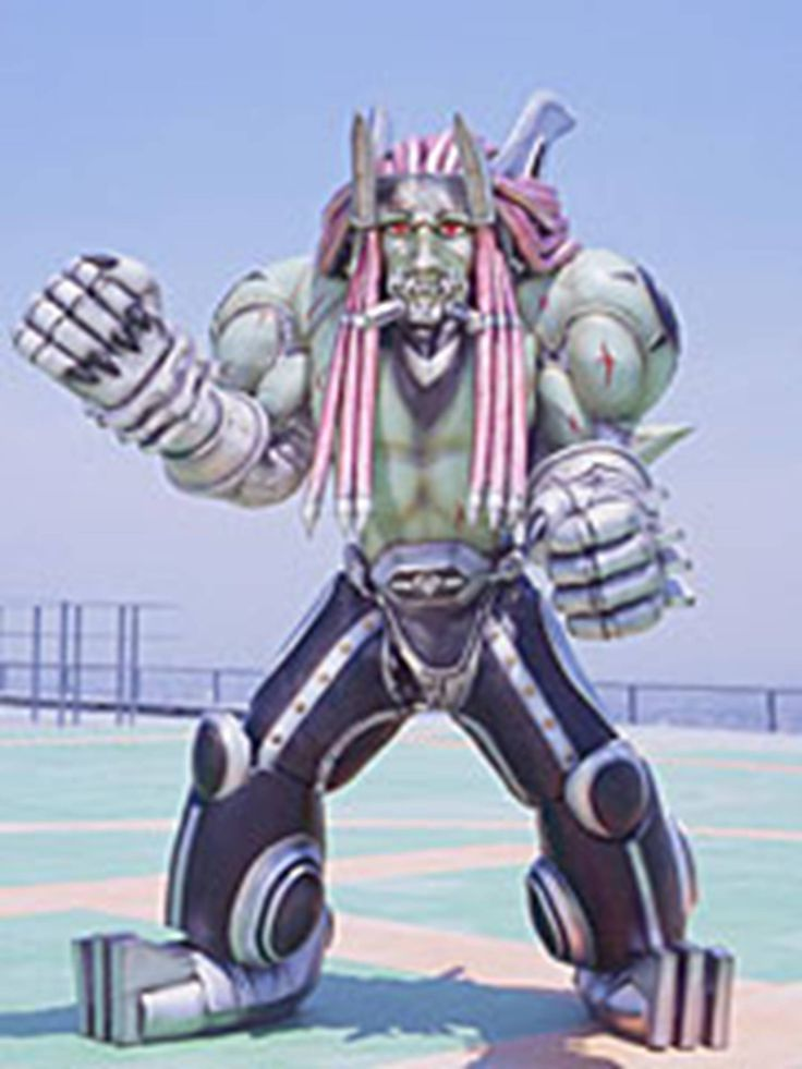 I searched for power rangers spd shorty images on Bing and found this from http://powerrangers.wikia.com/wiki/Reversian_Bon-Goblin_Hells