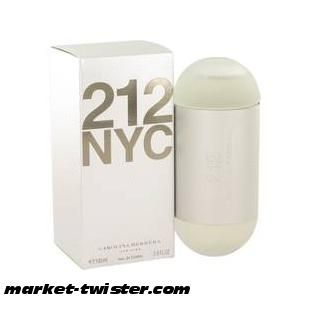 Carolina Herrera-212 Perfume By Carolina Herrera Eau De Toilette Spray (New Packaging)-Eau De Toilette Spray (New Packaging)