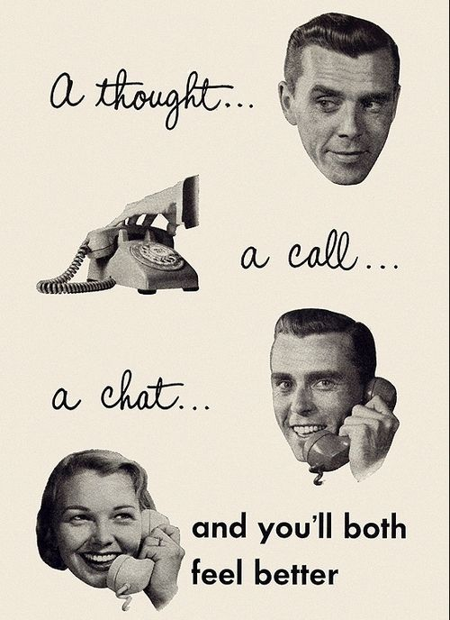 Bell Telephone Ad [1955]   My grandma worked at Bell before she got married. She would love to see this.