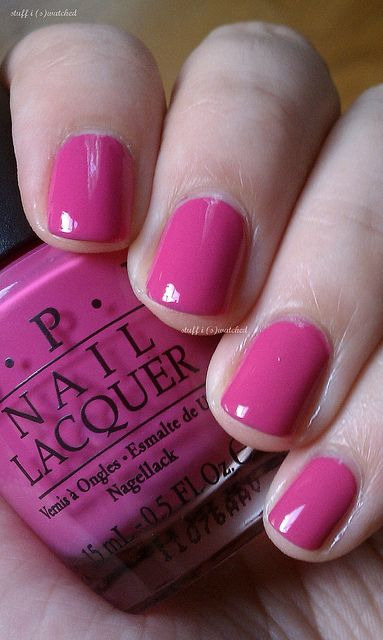 another pretty pink ~  OPI India Mood for Love