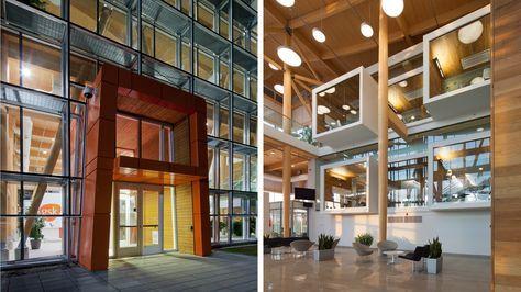 Nordic Structures   nordic.ca   Bois d'ingénierie   Projets   Réalisations   Bureaux de GlaxoSmithKline