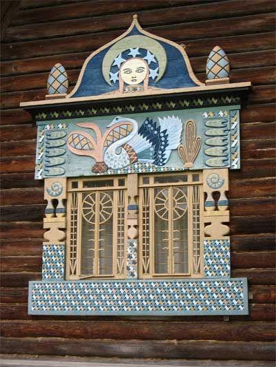 Russian window.
