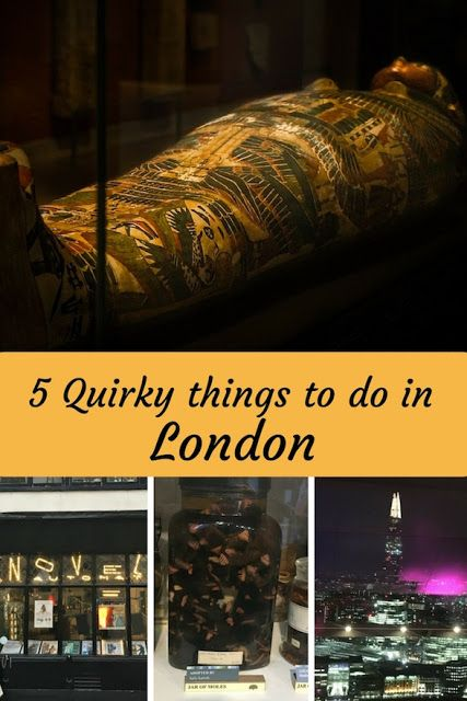 5 Quirky Things To Do In London | The Diary Of A Jewellery Lover including weird things to do with teenagers such as seeing the mummies at the #BritishMuseum, and the specimens at Grant Museum of Zoology and some things for adults including  taking a tour behind the scenes at the #HousesOfParliment, the #SkyGarden and more