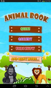 Kids can learn proper pronunciation of animals. They can play quiz and slide-show in our application. Kids can learn proper pronunciation of animals via . They can play quiz and slide-show in our #application.  Animal Book, an #Android application for #kids with http://bit.ly/Txge5f