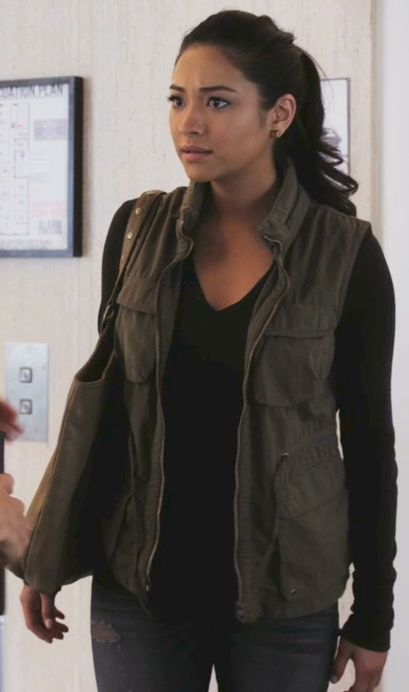 Shay Mitchell as Emily Fields in Pretty Little Liars