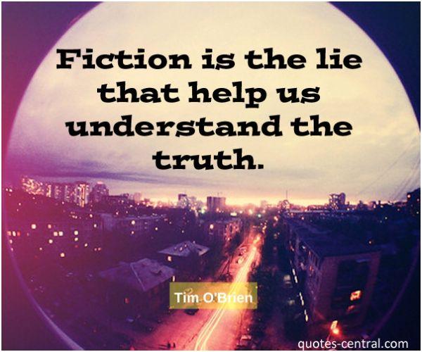 fiction, lie, help, truth