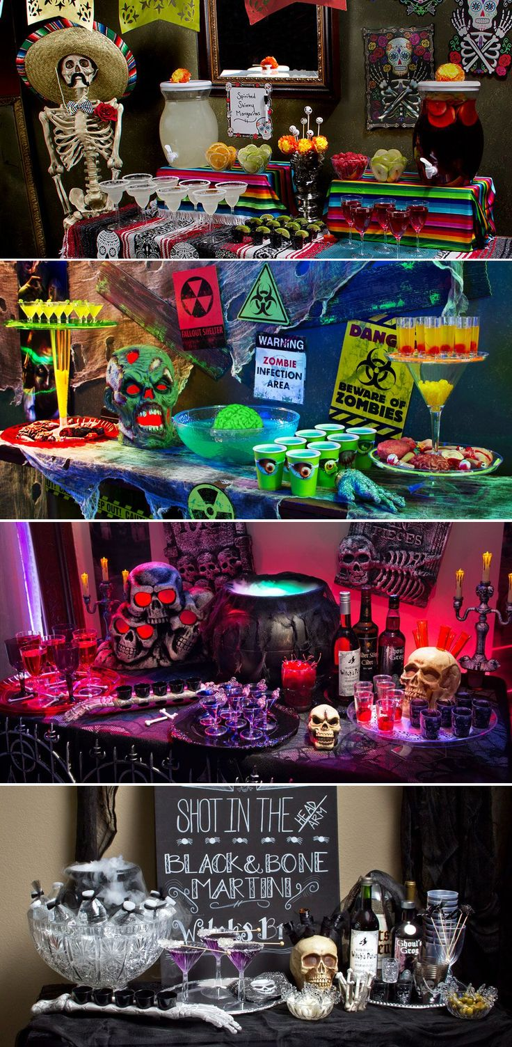choose your poison halloween party ideas - Halloween Party Rules