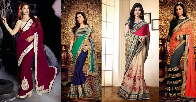 Indian Wedding Sarees – The Options Available Online at Moksha Fashions