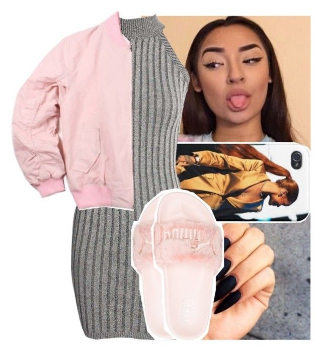 """Love Dealer : Oshea🦄"" by theyknowtyy ❤ liked on Polyvore featuring Puma"