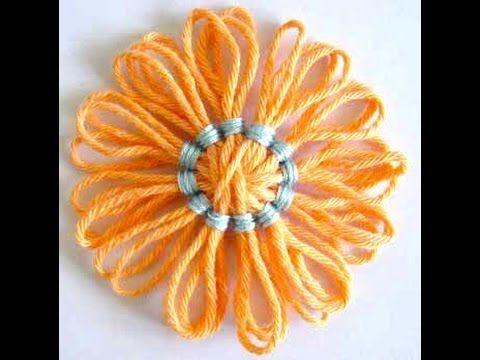 Flower Looms - Back Stitch Centre