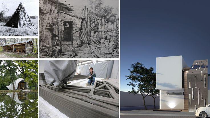 ¿Cómo ha cambiado la manera de diseñar una vivienda a través del tiempo?  #vivienda #dwelling #habitación #evolución #evolution #diseño #design