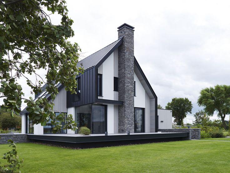 337 best moderne woning hellend dak images on pinterest for Exterieur villa moderne