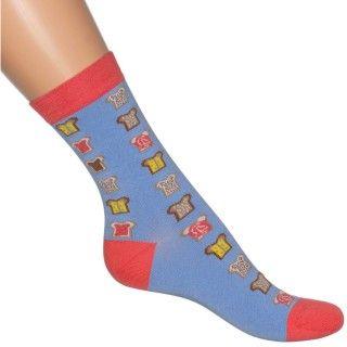 Bonnie Doon Sandwich Sock BN741102 blue horizon - BONNIE DOON - MERKEN