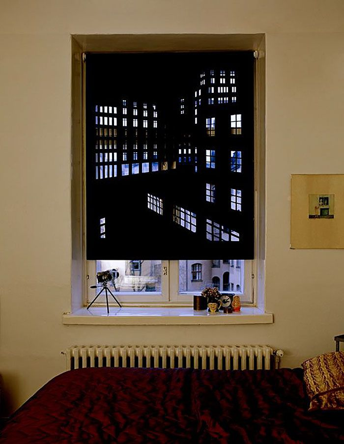 how to make your own roller blinds