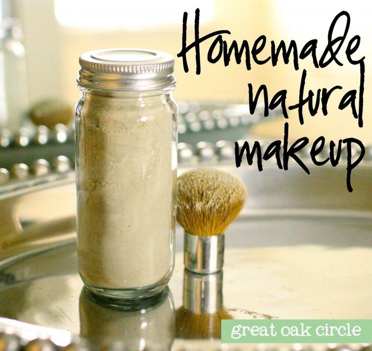 Homemade natural foundation