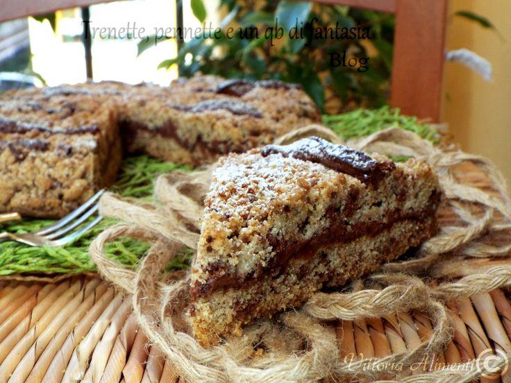 Sbriciolata+biscotto+con+nutella