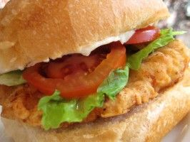 Wendy's Spicy Chicken Fillet Sandwich - Amazing every time I make it. Crisp, juicy, flavorful sandwich! Recently just put the breading mix in a container for a fast meal for next time. If you like spicy, you'll love this. (way better than fast food chicken sandwiches)