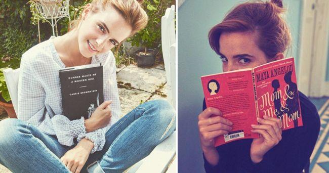 14 böcker du borde läsa – enligt Emma Watson   ELLE